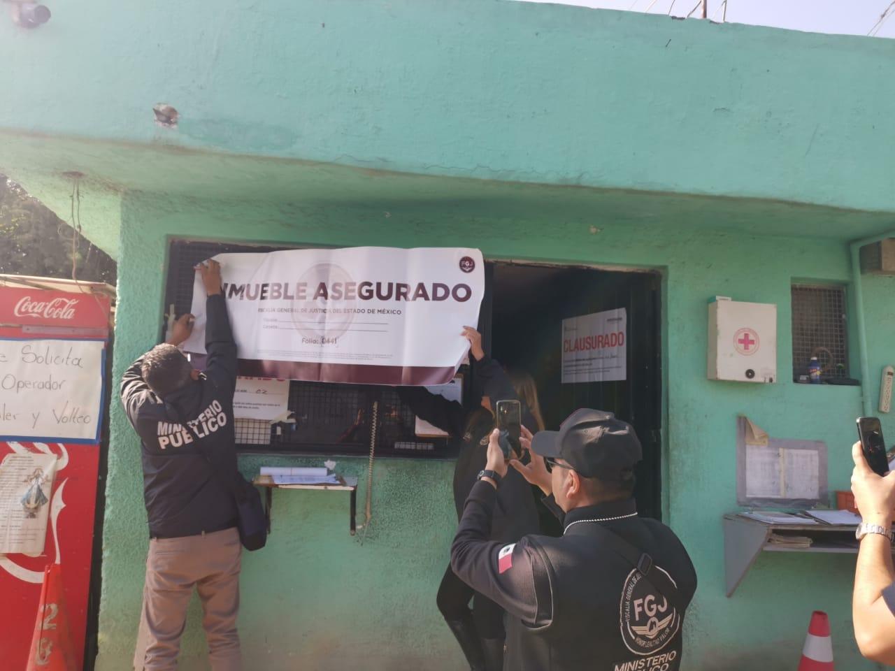 Asegura FGJEM sitio de basura por daño ambiental al área natural protegida de Tepotzotlán