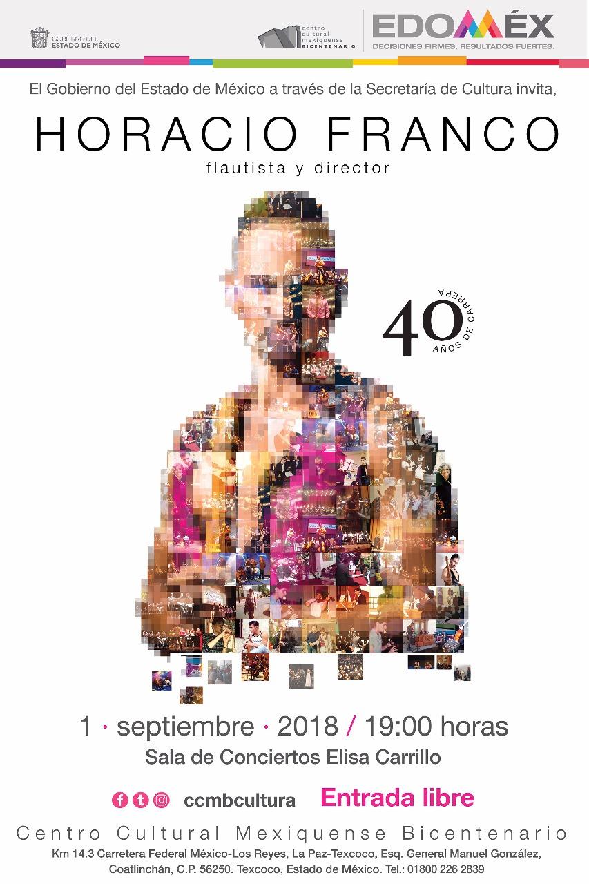 Engalana Horacio Franco séptimo aniversario del centro cultural mexiquense bicentenario