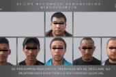 Asegura FGJEM a seis sujetos de origen hondureño y a un presunto traficante de personas