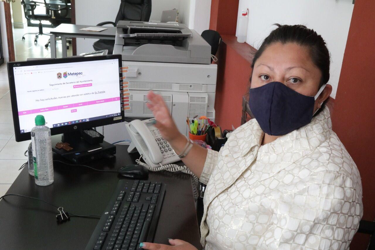 Continúa Metepec brindando eficaz servicios digitales