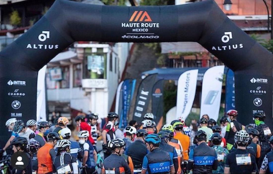 Concluyen cerca de 200 pedalistas la haute route México 2020