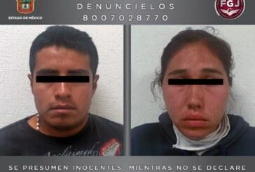 Detiene FGJEM a dos personas investigadas por organizar robos a tiendas departamentales en Tecámac