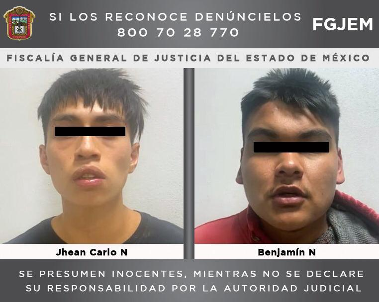 Cumplimenta FGJEM una orden de aprehensión en contra de dos sujetos investigados por el homicidio de dos jóvenes en Acolman