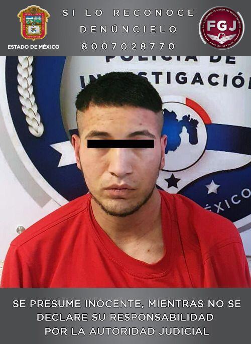 Aprehende FGJEM a probable asaltante en el municipio de Isidro Fabela