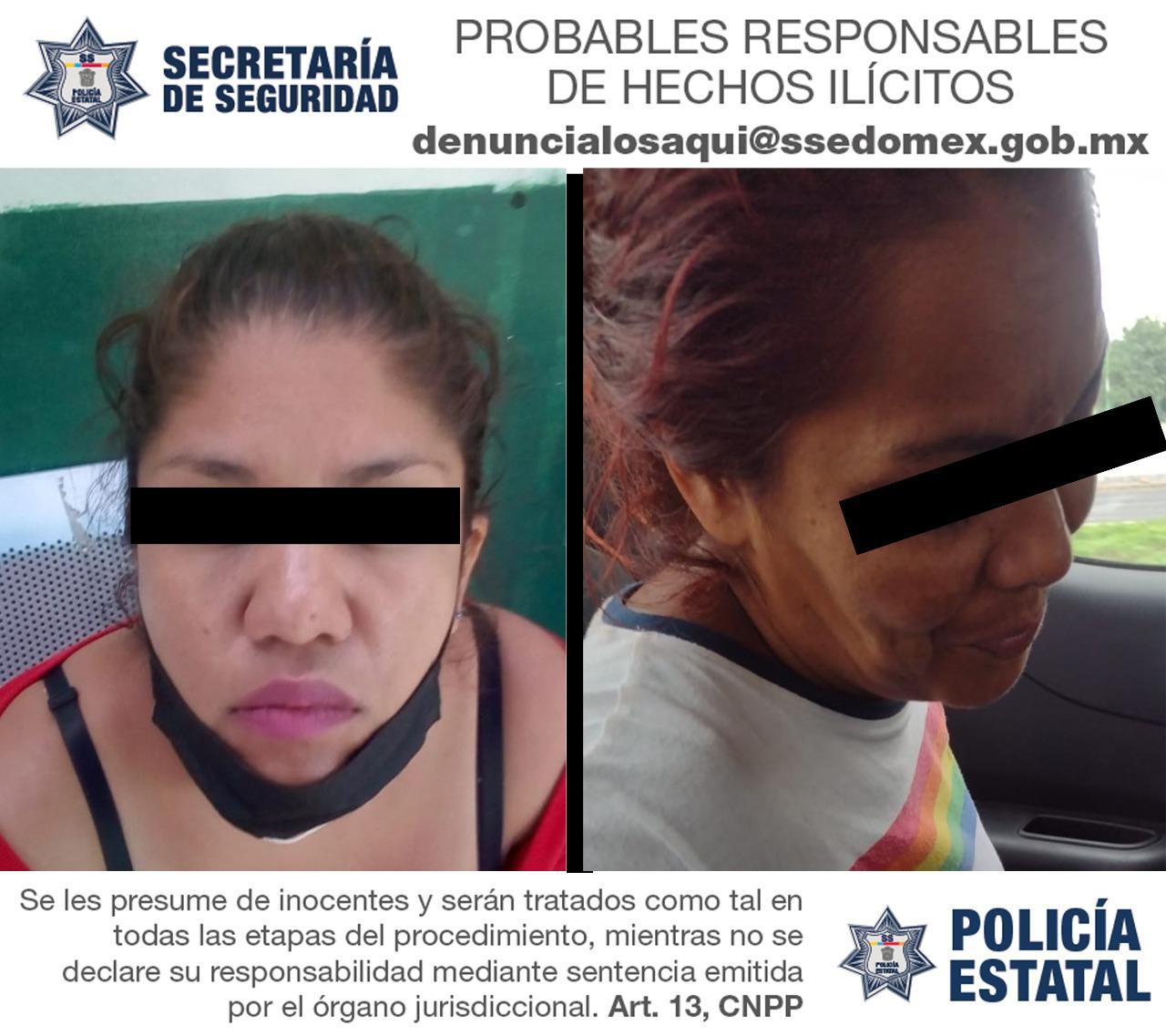 Detienen a tres sujetos al parecer dedicados al robo de autopartes en la entidad mexiquense