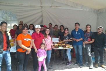 Centro de acopio para apoyar a damnificados del sismo