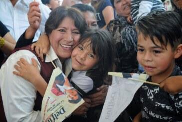 Es Delfina Gómez primer lugar en preferencias electorales; 78% quiere fuera al PRI de Edomex