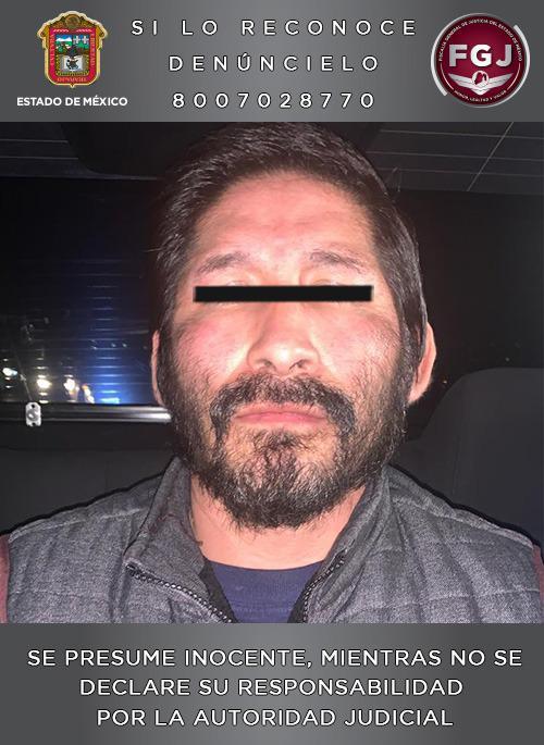 Detiene FGJEM a un sujeto investigado por el homicidio de una mujer en Tultitlán