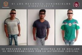 Vinculan a proceso a tres sujetos investigados por el asalto a los comensales de un establecimiento de comida rápida en Acolman