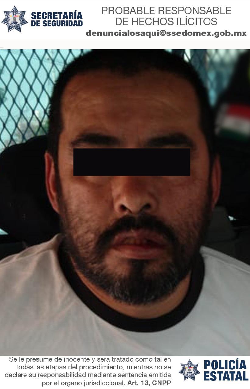 Secretaría de seguridad aprehende a probable extorsionador y recupera más de 30 mil pesos