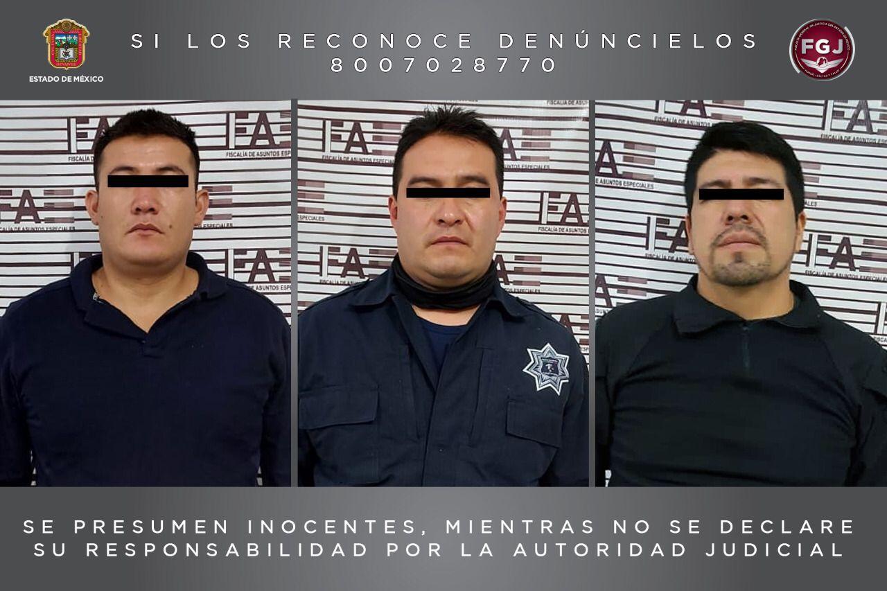 Decretan legal detención de tres policías municipales de Temascalcingo investigados por homicidio en grado de tentativa