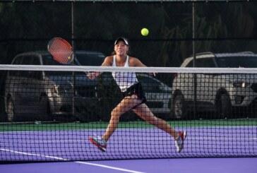 Obtiene Valentina Loretz Mejía medalla de plata en tenis individual, durante la olimpiada nacional 2019