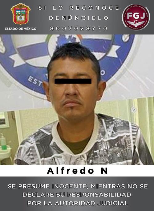 Cumplimentan una orden de aprehensión en contra de un sujeto que habría asesinado a una mujer a bordo de un vehículo de transporte público en Atizapán