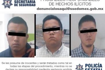 Secretaría de seguridad detiene a tres extranjeros por posible falsificación y utilización indebida de tarjetas de crédito