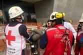 Tres trabajadores de la construcción afectados por el derrumbe de la obra donde trabajaban