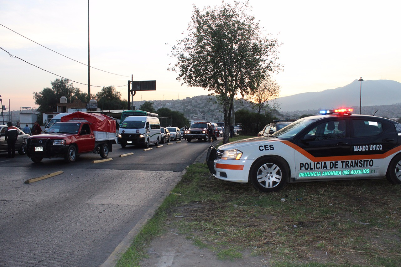 Infraccionan a 2 mil 432 conductores por invadir carril del Mexibús