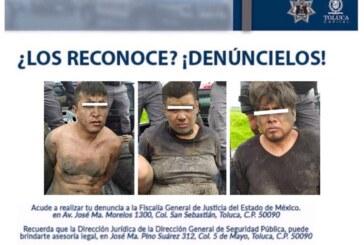 Policía Municipal detiene a presunta banda de delincuentes