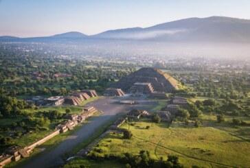 Informa secretaría de turismo suspensión temporal del espectáculo experiencia nocturna en la zona arqueológica de Teotihuacán
