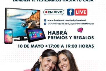Alista gobierno de Metepec celebración digital por el día de las madres