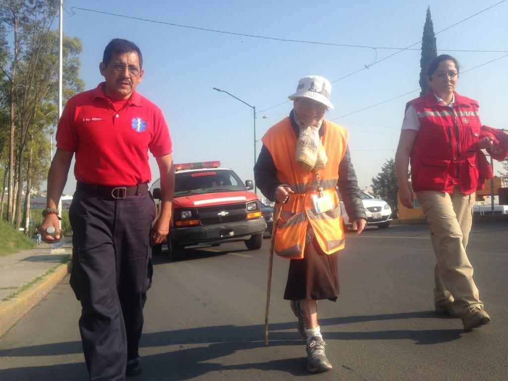 Con 95 años y contando caminará de Monterrey hasta CDMX