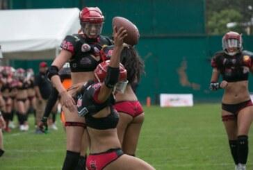 Las chicas de Red Devils en la lucha por el campeonato de la WFL