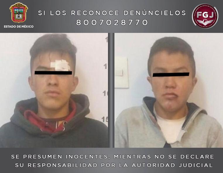 Inician proceso legal contra dos sujetos por un robo de vehículo en Ecatepec