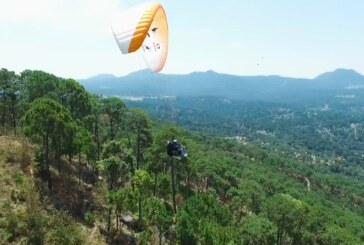 Muestran en un click la experiencia de un vuelo en parapente
