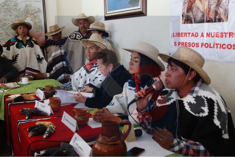 Exigen comuneros de Salazar dialogo con gobierno estatal y federal
