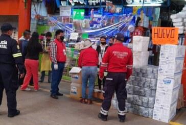 Realiza Toluca operativo en la Central de Abastos, lleva a cabo el cierre de Negocios no Esenciales