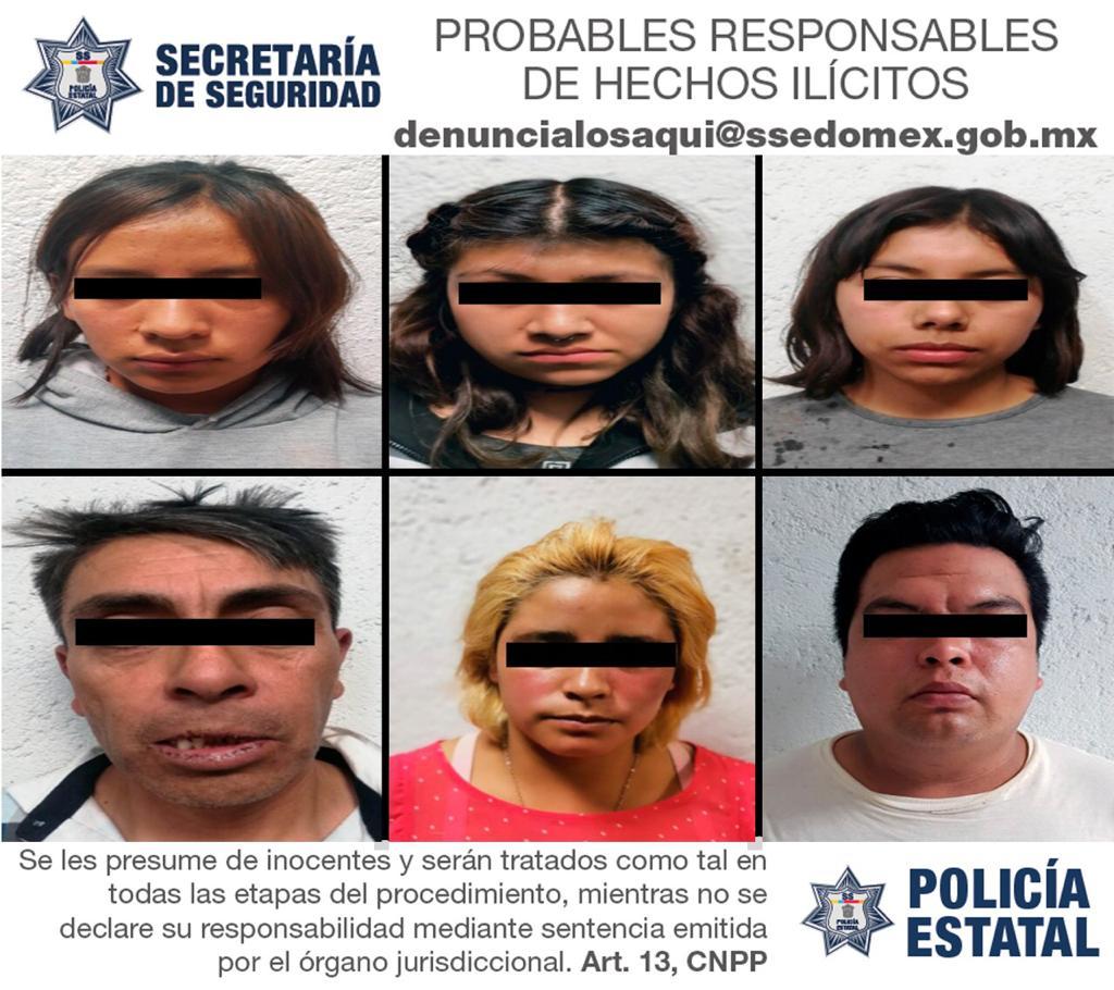 Detienen a siete personas posibles responsables del delito de secuestro