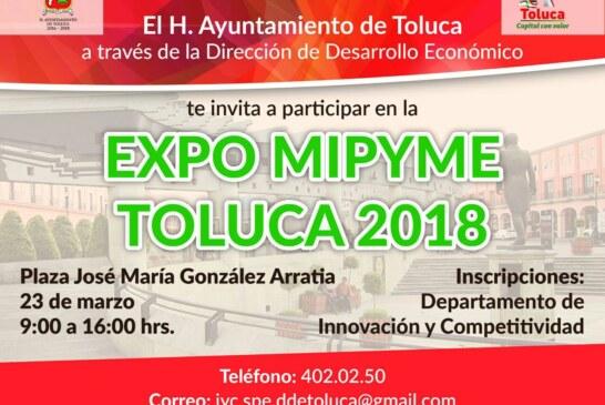 Alista Toluca Expo MIPyME 2018