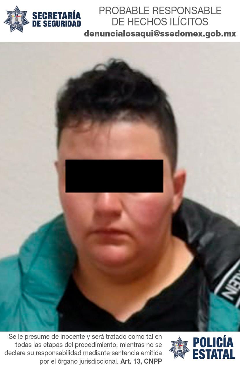 Secretaría de seguridad detiene en flagrancia a mujer como posible responsable de intento de robo de un cajero automático