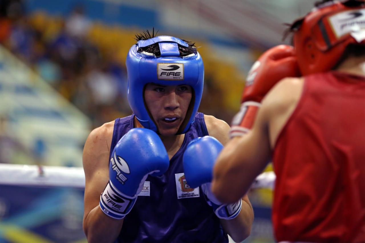 Domina Edoméx el ring en la olimpiada nacional 2019