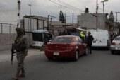 Detienen fuerzas federales y estatales a 16 personas en operativos en Ecatepec