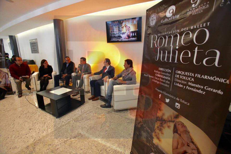 Se presentará en Toluca el Ballet Romeo y Julieta