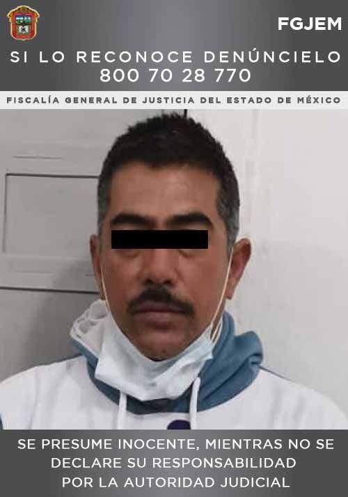 Cumplimentan elementos de la FGJEM una orden de aprehensión contra individuo indagado por homicidio en Chapa de Mota