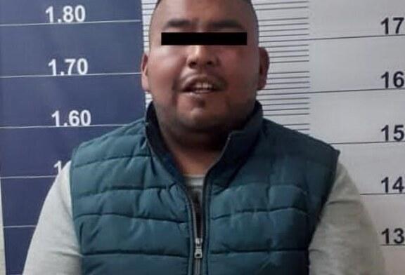 Aprehenden en Chalco a sujeto investigado por el delito de extorsión