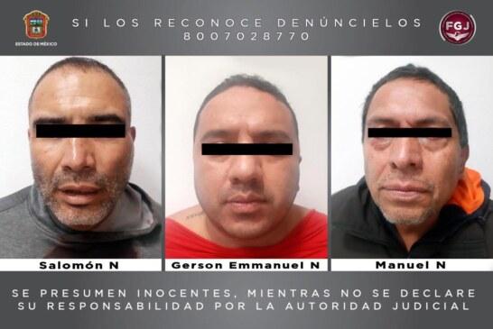 Detienen a tres probables secuestradores de un comerciante