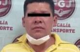 Inician proceso legal contra un probable asaltante de transporte público en Atizapán