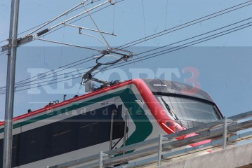 Inicia pruebas el tren interurbano México – Toluca.