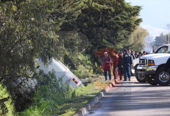 Accidente de autobús deja 40 menores lesionados