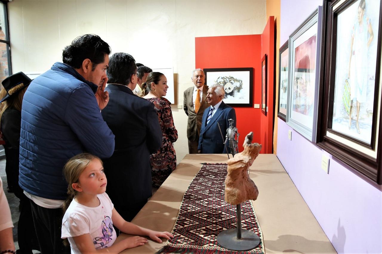 Llega a Toluca exposición de acuarela de artistas de Tailandia