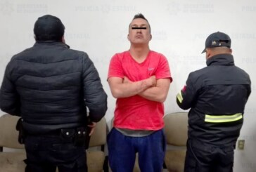 Capturan policías estatales y municipales a agresor sexual de una menor