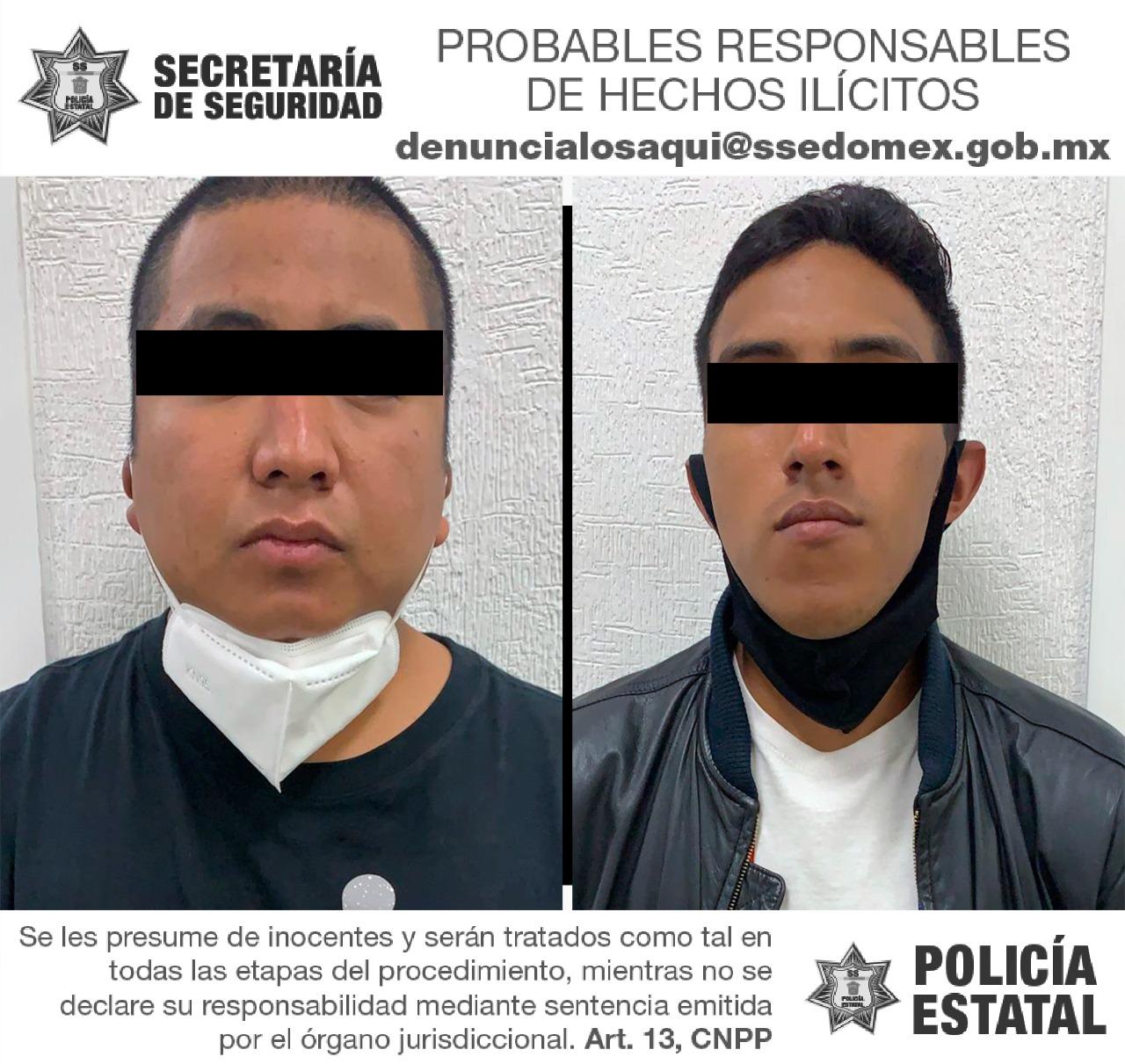 Secretaría de seguridad recupera vehículo robado y detiene a dos probables responsables del delito de encubrimiento por receptación