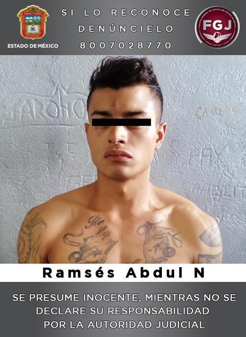 Detienen a sujeto investigado por un robo con violencia en Ecatepec