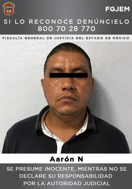 Asegura FGJEM a individuo investigado por el feminicidio de su ex pareja sentimental en Tepetlaoxtoc