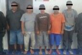 Capturan a cinco hombres por tráfico de animales y portación de armas de fuego