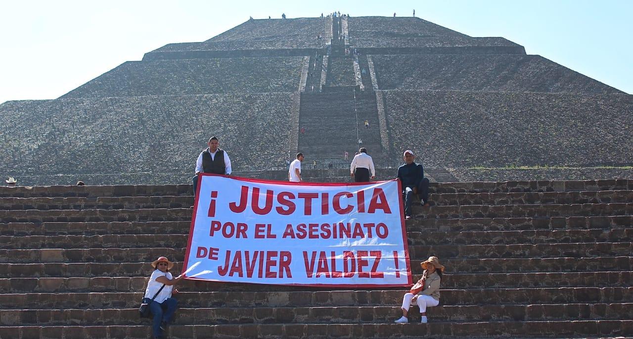 Justicia por el asesinato de Javier Valdez