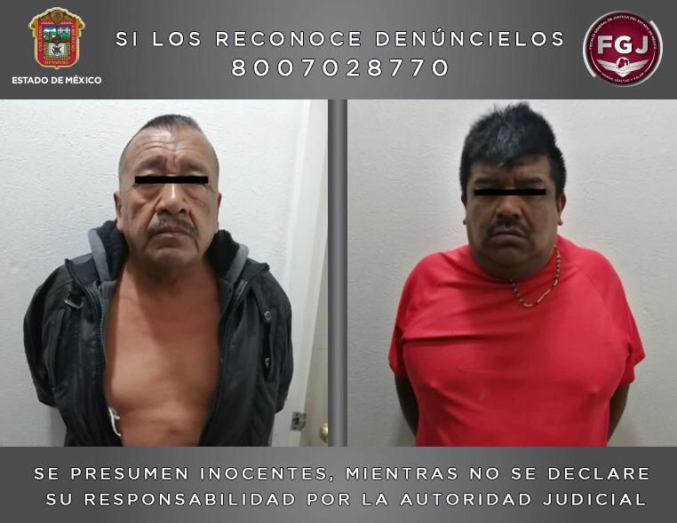 Aprehenden a dos sujetos por el asesinato de un individuo en Chimalhuacán
