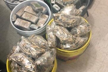Localizan más de 31 mil cartuchos útiles de diversos calibres en Tecámac